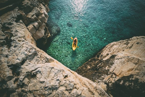 Kayaking, snorkeling in the caves and cycling